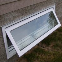 awning window outside open view